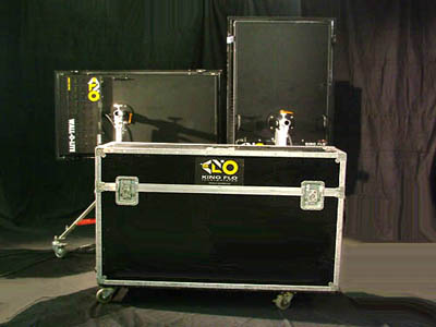 Kino Flo Wall-O-Lite Systems for sale with case - click here