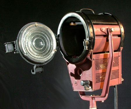 Mole Richardson Baby Junior 4131, tungsten studio lights, Mole Baby Junior Lights, 2K, 1.5K, 1K, fresnel tungsten