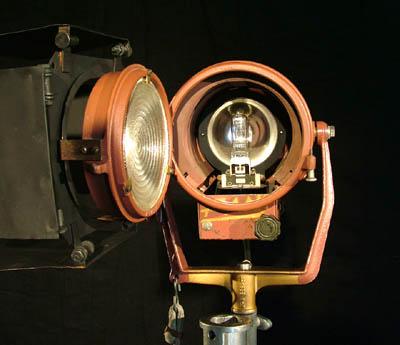 Mole Richardson 1K Baby Baby Fresnel Light System for Sale
