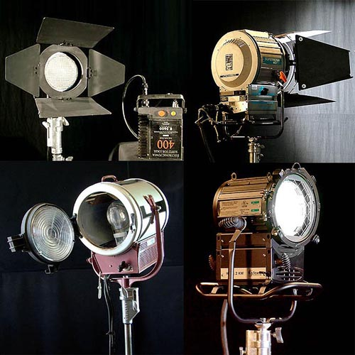 Used quality HMI lighting for sale, Used quality Tungsten lighting equipment for sale