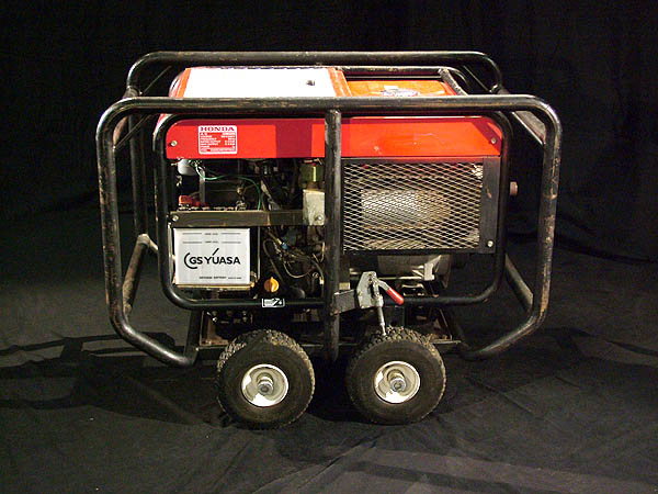 2002 Honda ES 6500w Gasoline Generator for Sale