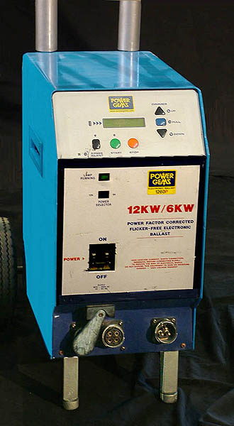 LTM 12/18K HMI PRESNEL LIGHT COMPLETE WITH WARRANTY - Click here