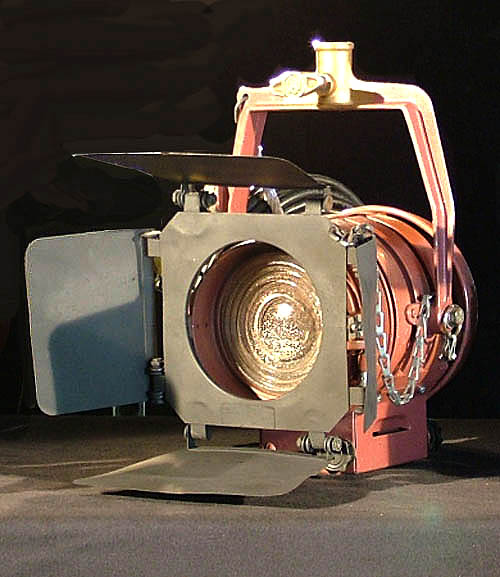 Mole Richardson 1K Baby Baby Fresnel Light System for Sale