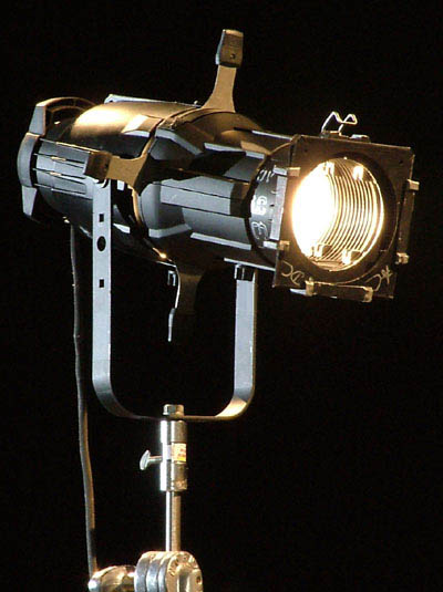 w source etc light lustr tungsten barndoor shutter spot stage led ellipsoidal