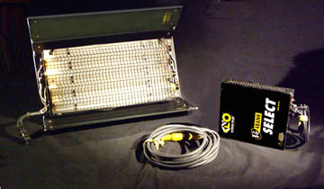 Used Kinoflo 2ft X 4-Bank Lights for Sale - click here