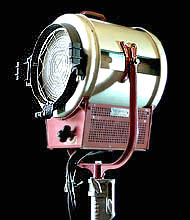 Used Mole Richardson 5K Baby Tungsten Fresnel Lights for Sale - click here